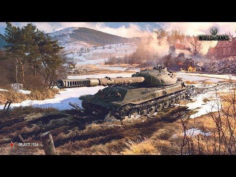 """Стрим World of Tanks # 435 """"На пути к Тяжёлому танку Объект 705А # 3"""""""
