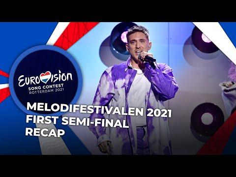 Melodifestivalen 2021 (Sweden) | First Semi-Final | RECAP