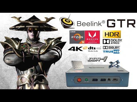 Мини-ПК Beelink GTR Ryzen 5 с Windows 10 | 4K HDR | Dolby TrueHD | Mortal Kombat X