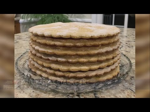 Food with Fred: Dried Apple Stack Cake