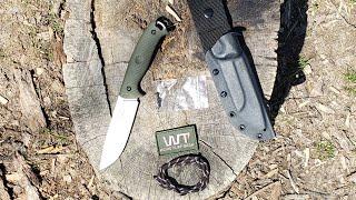 Work Tuff Gear - Red Wolf - an outstanding bushcraft knife
