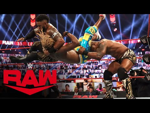 The New Day vs. Shelton Benjamin & Cedric Alexander – Raw Tag Team Title Match: Raw, Nov. 16, 2020