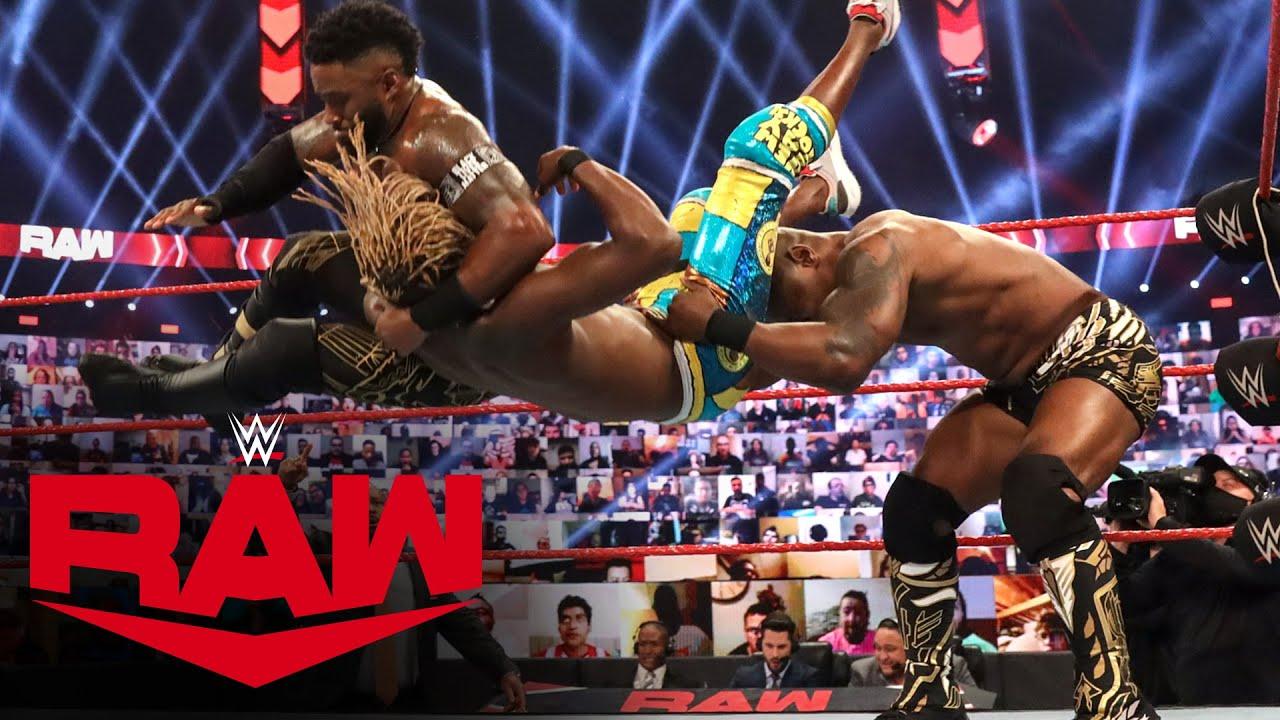 The New Day vs. Shelton Benjamin & Cedric Alexander – Raw Tag Team Title Match: Raw, Nov. 16, 2020
