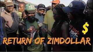 Return Of ZimDollar :Streets Views