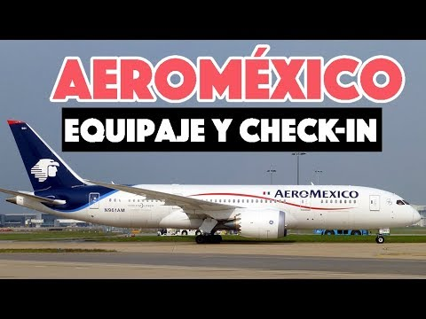 Aeroméxico: Equipaje Permitido Y Check In