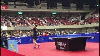 【勝利の瞬間】世界ランク1位を破る快挙!アジアカップ グループリーグ 張本智和vs樊振東