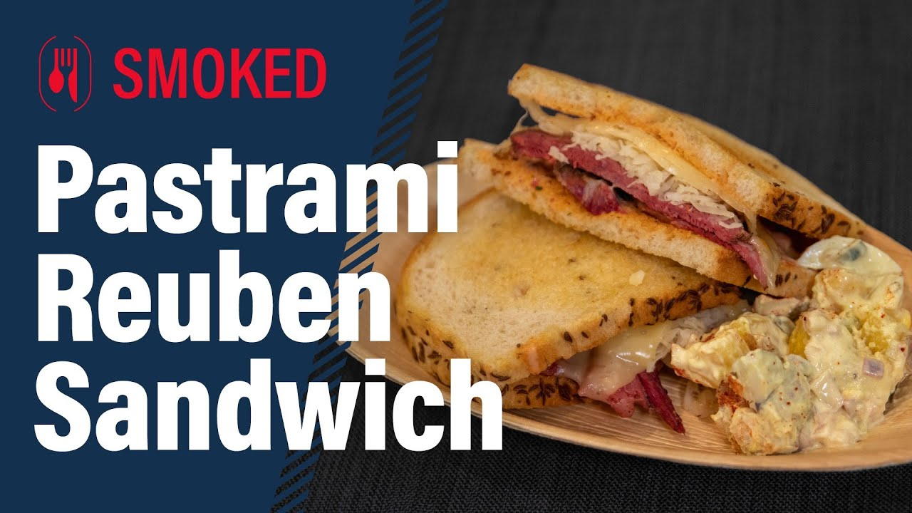 From Scratch Pastrami and Rueben sandwiches
