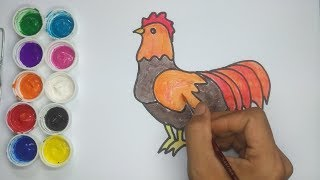 How to Draw a Chicken Easy for Kids