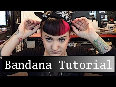 Bandana Binden Tutorial 50s Hairstyle