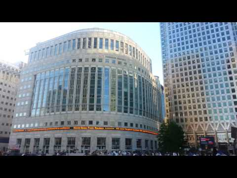 Financial Centre Europe - Canary Wharf Docklands - Centrum finansowe Europy