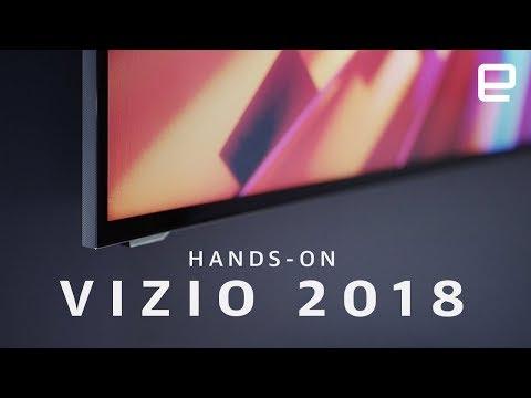 Vizio's 2018 TV Lineup Hands-on