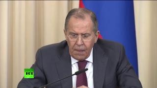 Пресс конференция глав МИД России и Саудовской Аравии