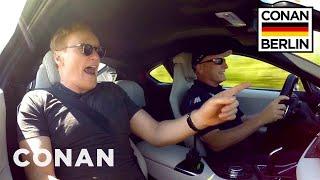 Watch Conan Rocket Down The Autobahn In 360°