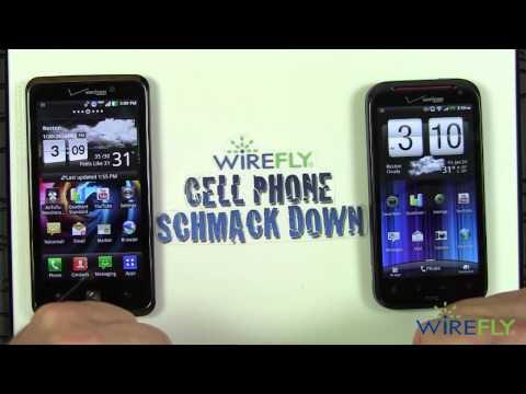 Schmackdown! HTC Rezound vs. LG Spectrum