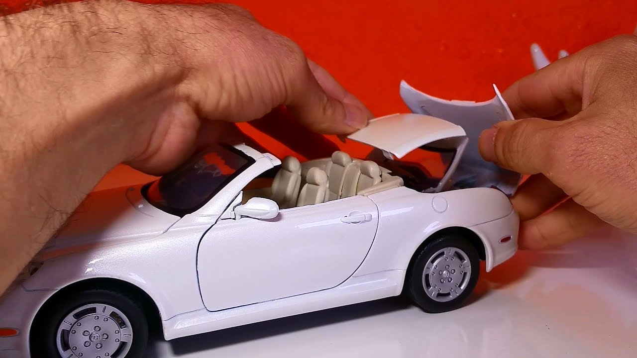 Amazing Model car 08 :: Lexus SC430  1:18 scale Must see