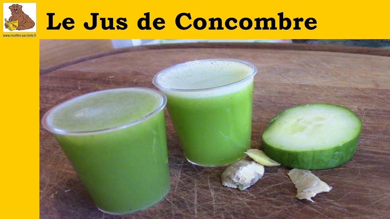 cuisine marocaine jus de concombre