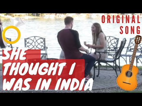 THE CRAZIEST SURPRISE PROPOSAL *She Thought I Was In India!*