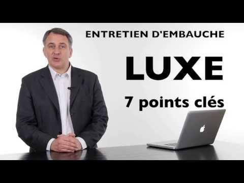 Entretien d'embauche dans le luxe : 7 points clés (Pour décrocher le job !)