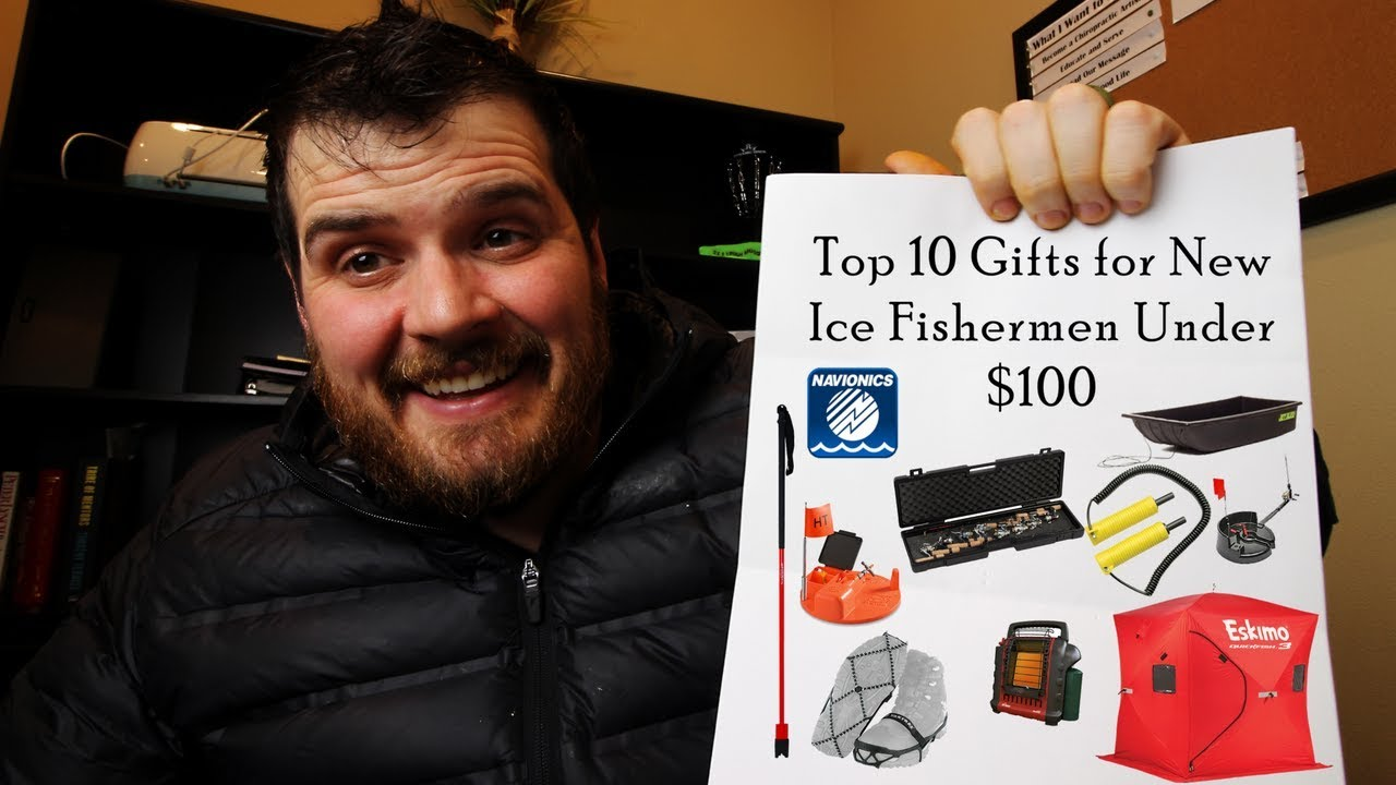 Top 10 Gifts for New Ice Fishermen Under $100