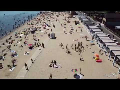 Пляж «Камское море» города Лаишево