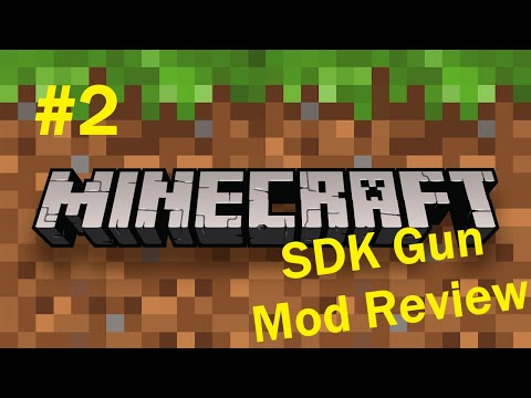 Minecraft - SDK's Gun Mod Review (Part 2: The Gadgets & Utilities)