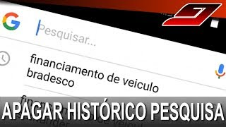 Como apagar histórico de pesquisa no Celular Android | Guajenet
