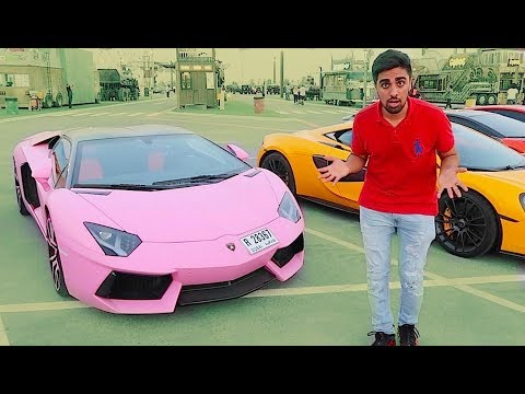they HATED my pink Lamborghini ...