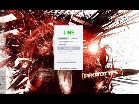LINE para PC - Tutorial en Español