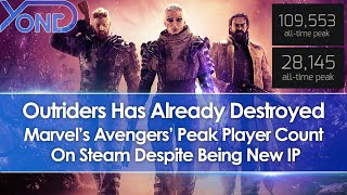 Outriders Has Already Destroyed Marvel's Avengers' Peak Player Count On Steam Despite Being New IP