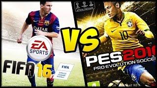 FIFA 16 VS PES 2016 - Video Recensione ITA by Games.it((Ricaricato con AUDIO migliorato) Il videoconfronto tra PES2016 e Fifa 16 a cura della redazione di Games.it. Abbiamo analizzato tutti gli aspetti del gamplay, ..., 2015-09-28T12:45:27.000Z)