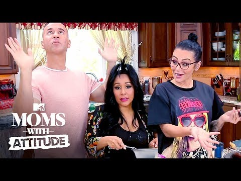 Snooki, JWoww, & Mike Bring the Boardwalk To Their Backyard (Pt. 1) | Moms with Attitude | MTV