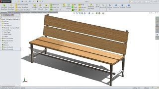 SolidWorks tutorial for Beginners Bench