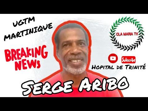 ENTRETIEN exclusif avec Serge ARIBO (UGTM Trinité Martinique)