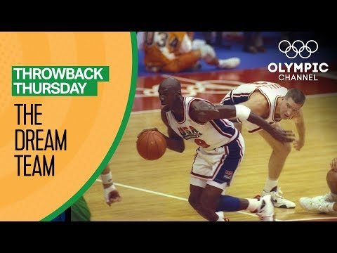 The Best of the Dream Team at the Barcelona 92 Olympics   Throwback Thursday