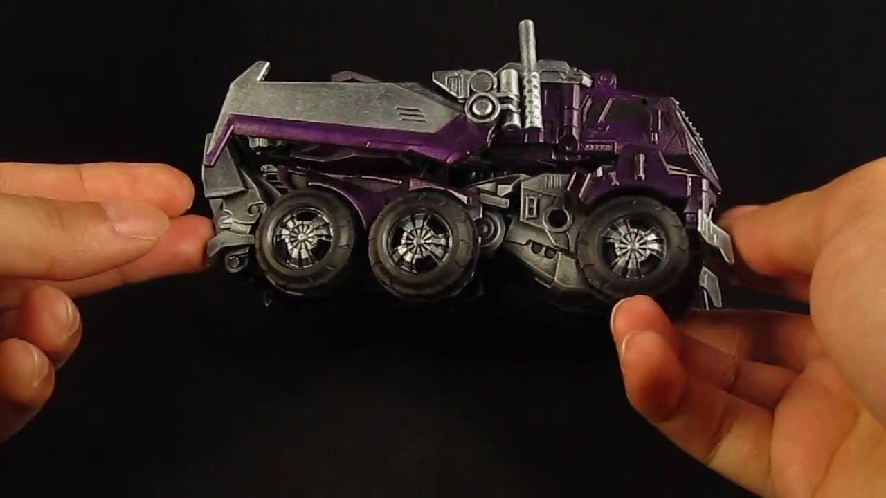 Make Your Own Car >> Transformers Custom Earth Mode Shockwave - YouTube