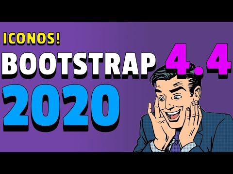 BOOTSTRAP 4.4.1 😱 Ahora con ICONOS y nuevas clases 😱 [Tutorial Español] thumbnail