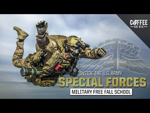 Inside The Special Forces Military Free Fall School