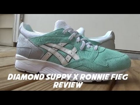 brand new c7723 a9b2e Diamond Supply x Ronnie Fieg x Asics Gel Lyte V Sneaker Detailed Review +  On Feet