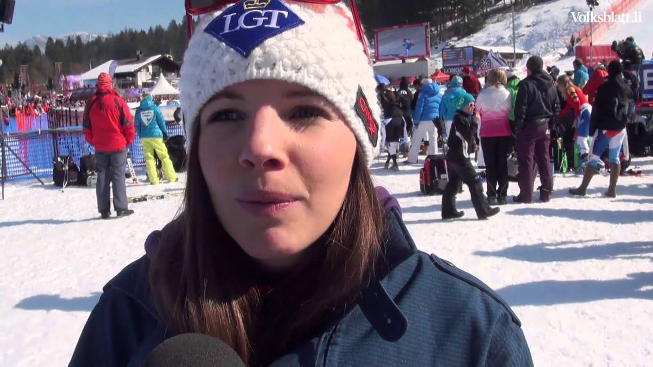 Tina Weirather Nach Platz 7 In Garmisch Youtube