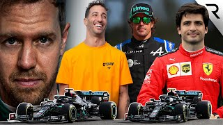 The 2021 F1 driver line-ups ranked from worst to best