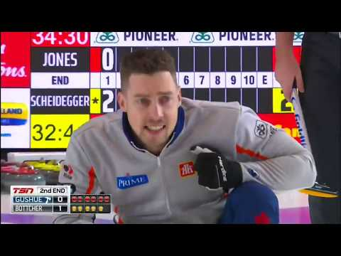 2019 Home Hardware Canada Cup of Curling - Gushue vs Bottcher - Draw 1
