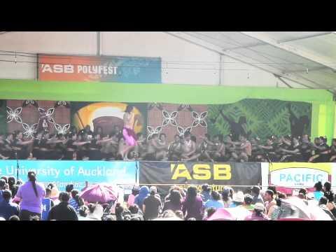 Tamaki College Samoan Polyfest Stage 2011