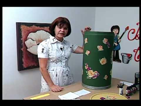 Resultado de imagem para imagem Tv Transamérica - Técnica: Decoupagem em papelão