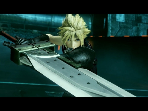 Dissidia: Final Fantasy NT Cloud Gameplay - E3 2017