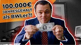 100.000€ Jahresgehalt nach dem BWL-Studium möglich?!
