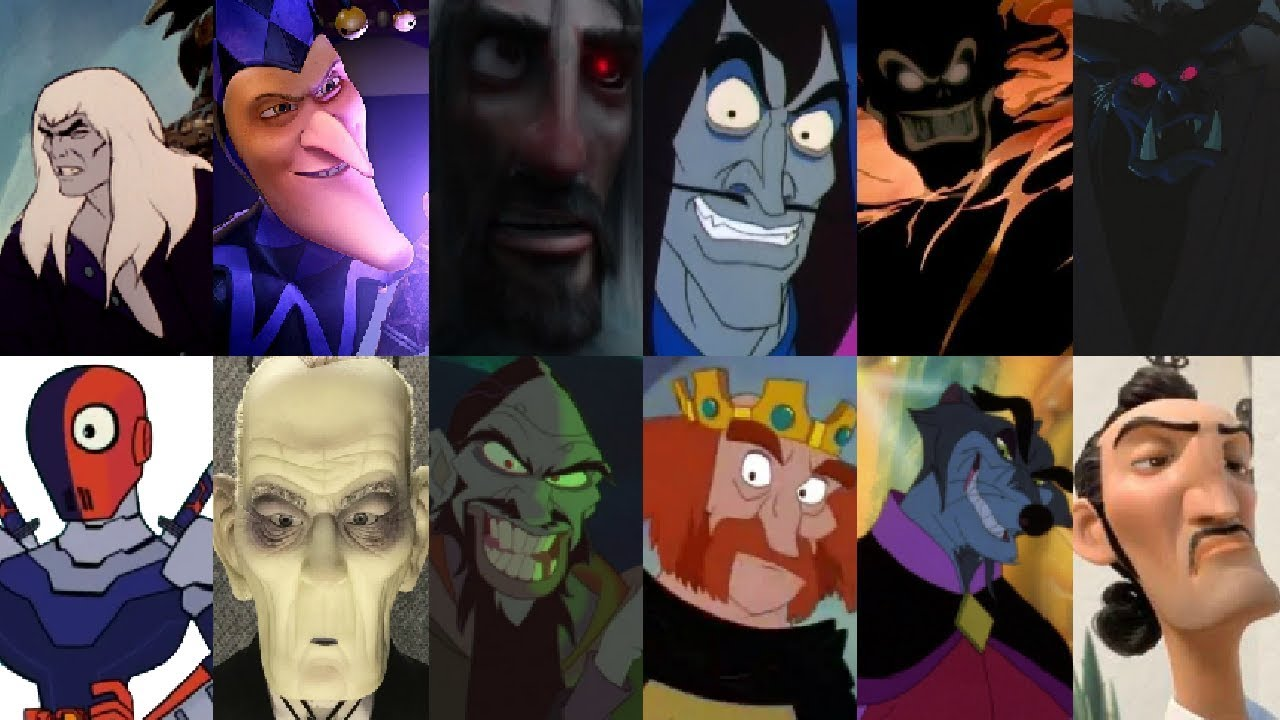 100+ Animated Movie Villains – yasminroohi