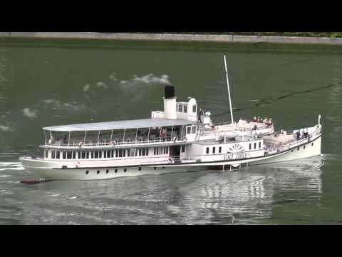 ASK Model Boat Showcase 2015 - Best RC Boats and Ships of Switzerland