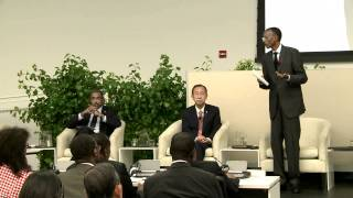 President Kagame chairs Head of States and Government special event- New York, 8 June 2011