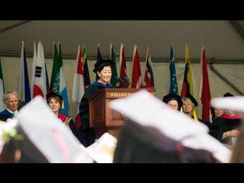 Lulu Chow Wang '66: Wellesley College 2016 Commencement Speaker