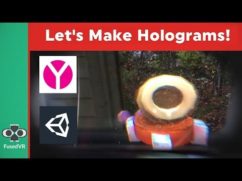 Dodgeball in True Augmented Reality! Holograms in Cardboard AR w/ ARCore & Aryzon (Unity 2017)